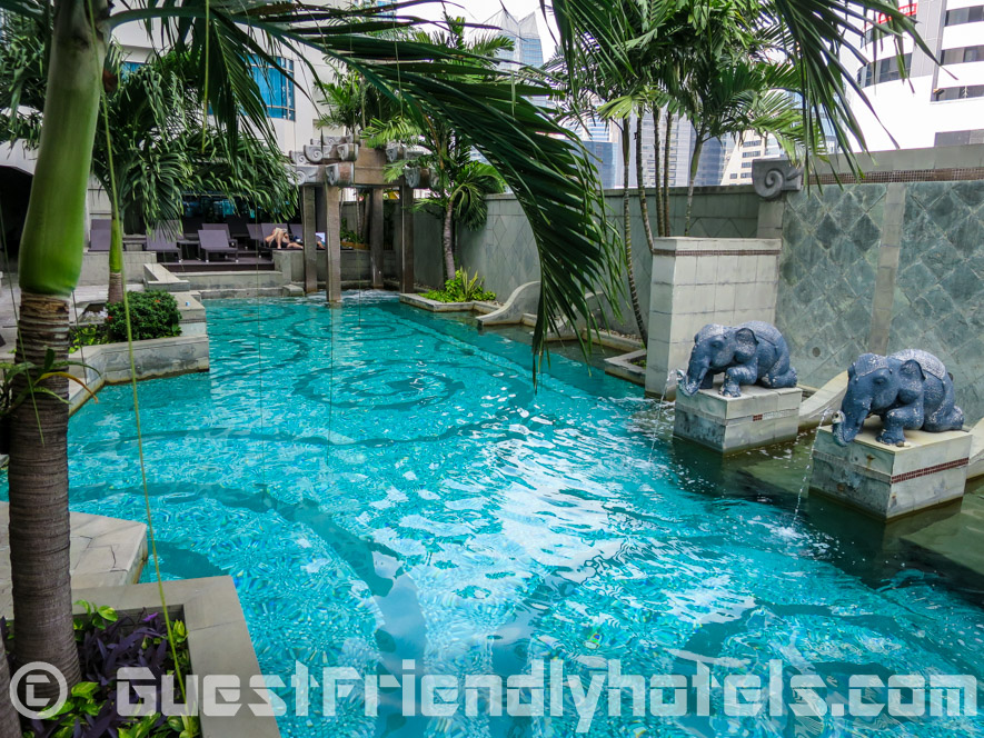 Another view of the pool in Majestic Grande Hotel