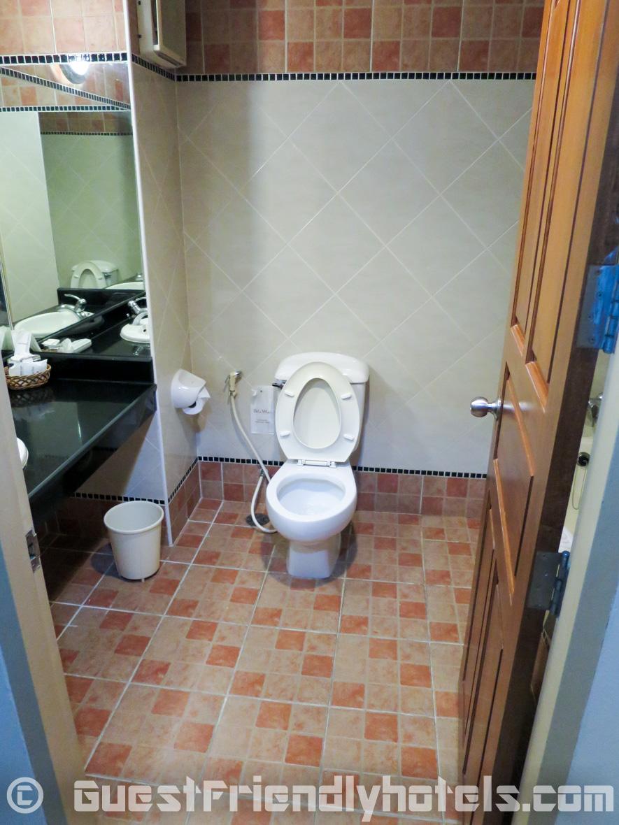 Bathroom view at Bella Villa Prima Hotel