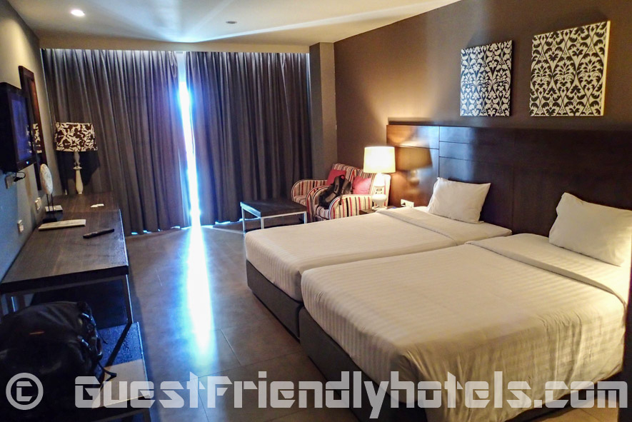 Rooms at 40 sq.m are looked brand new, was modern, spacious & very comfortable in See Me Spring Hotel