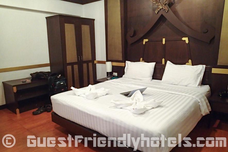 Inside the Standard Room in Apsara Residence