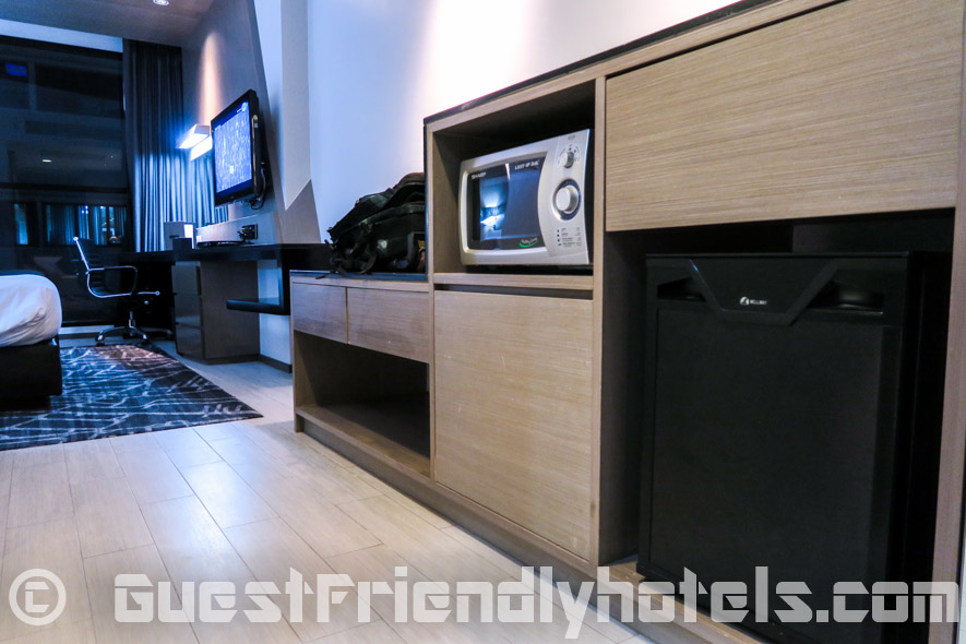 Microwave and minbar found inside all rooms of Best Western Premier Sukhumvit