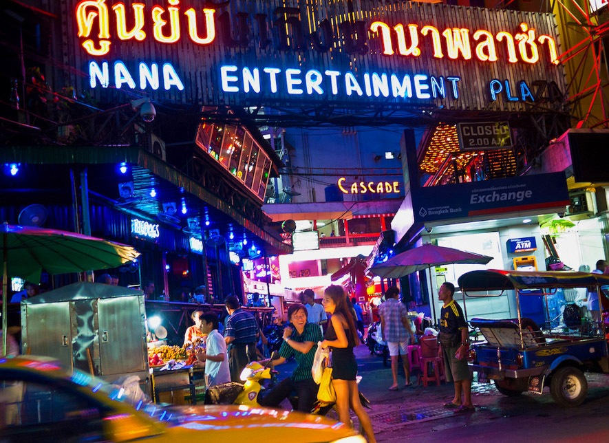 Nana Plaza Bangkok Redlight District