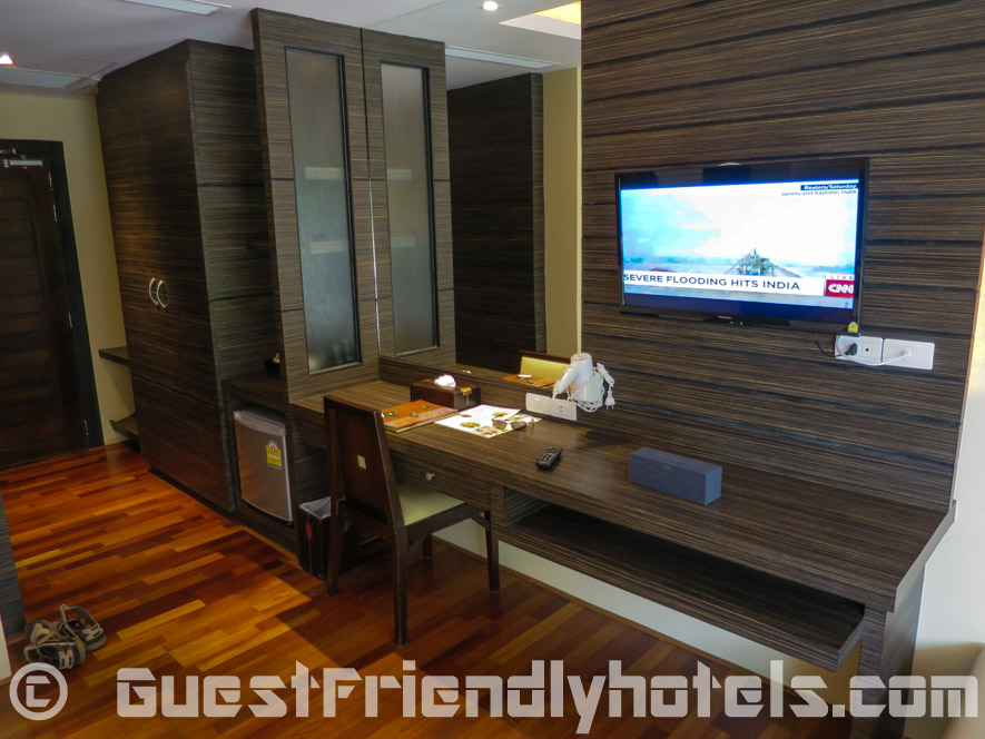 Rooms are spacious and very adequately furnished with all required amenities in Resort and Spa Phuket