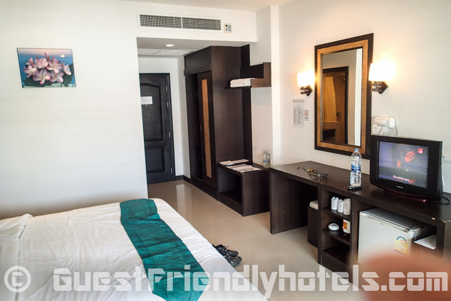 Standard room amenities inside Amata Resort
