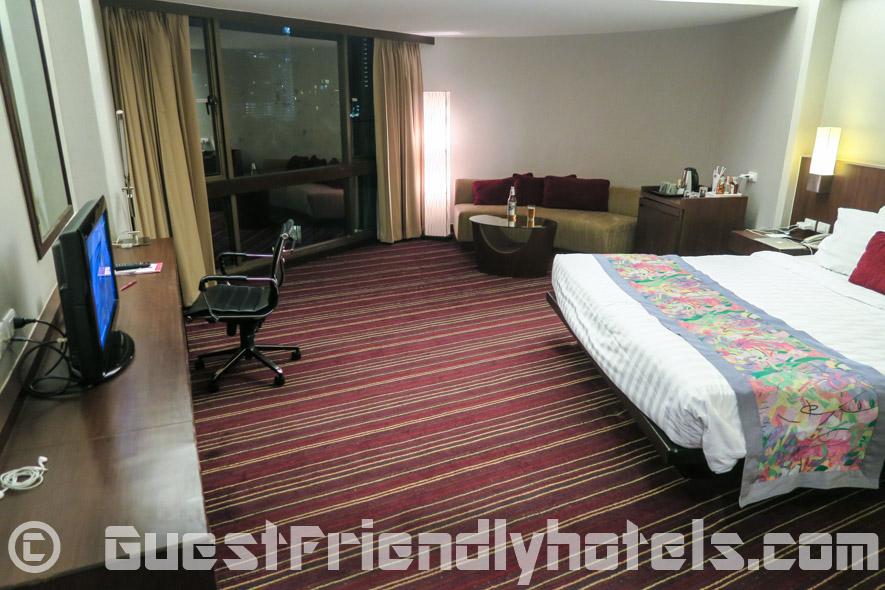 Superior type of rooms in Ambassador Hotel in Bangkok