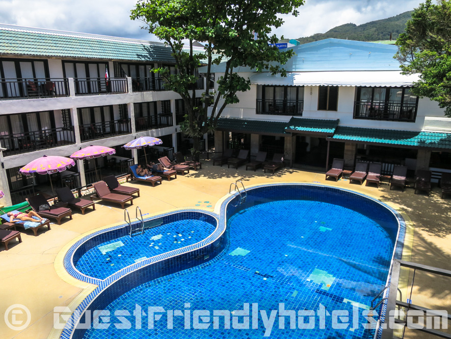 The Pool area in Patong Bay Garden Resort