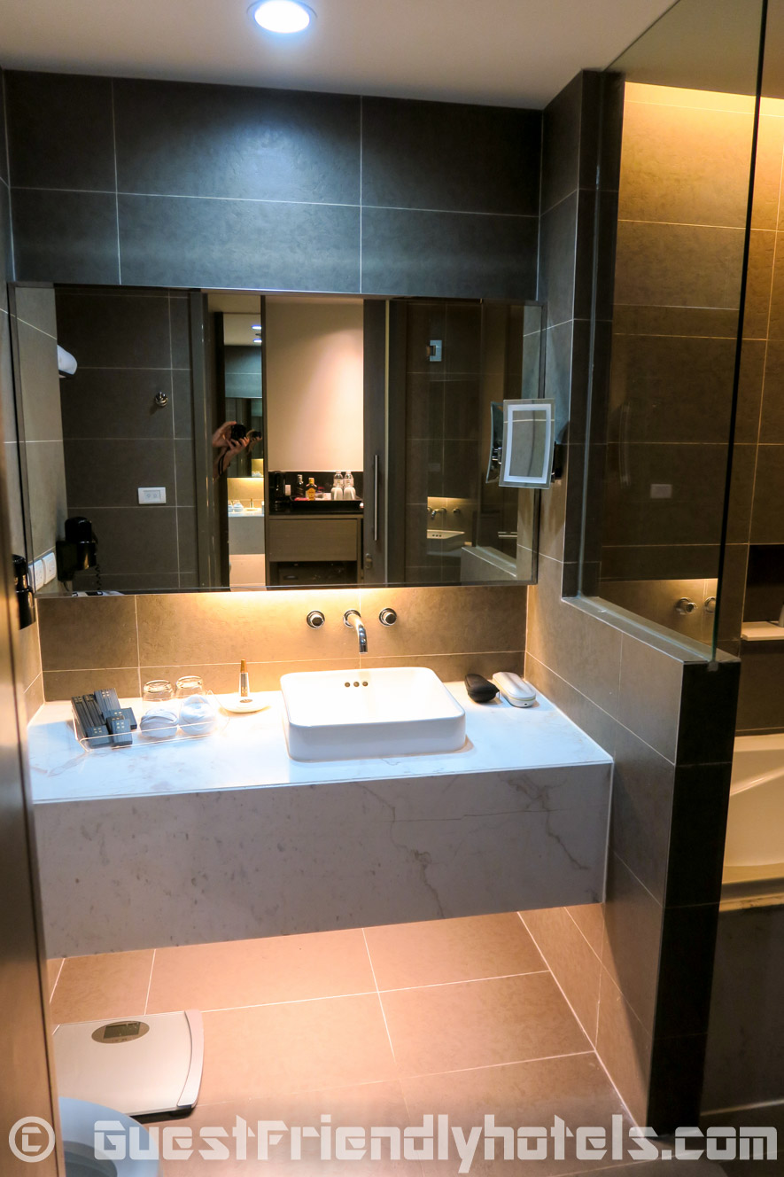 The bathrooms are pretty good a the Best Western Premier Sukhumvit
