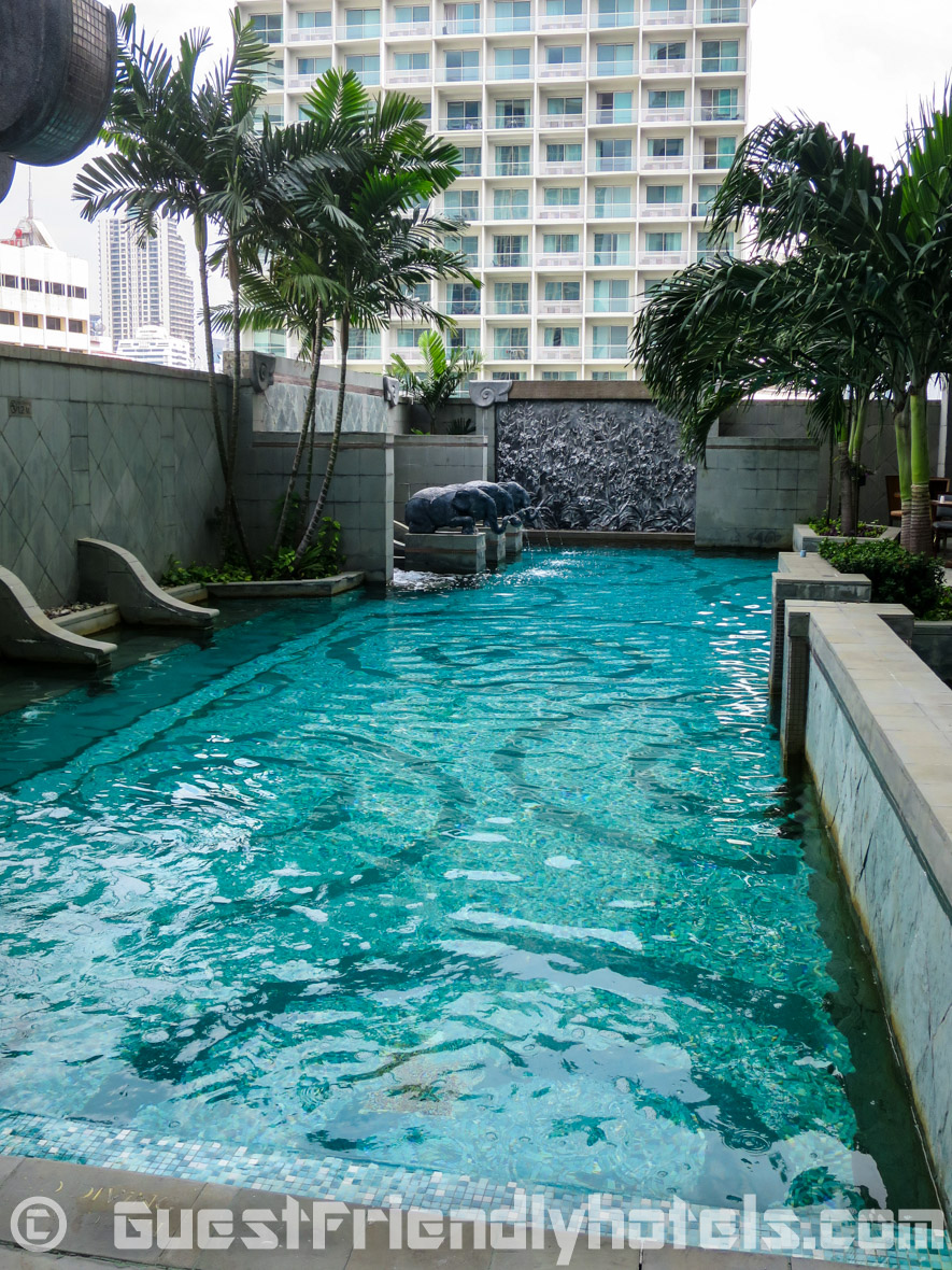the Pool at the Majestic Grande Hotel